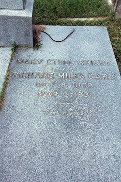 Mary Ethel <I>Wright</I> Cary