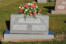 Anna Regina <I>Abell</I> Clements
