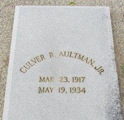 Culver R. Aultman, Jr