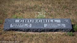 Edith Serephina <I>Larson</I> Churchill