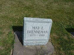 "Lulu May ""May"" <I>Edgington</I> Brenneman"