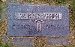 Ina Ellen S E.S. Shannon