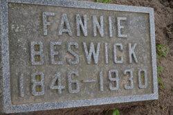 Fannie A. <I>Tarrant</I> Beswick
