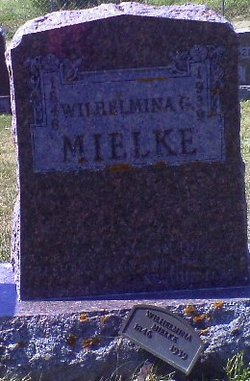 Wilhelmina <I>Brockopp</I> Mielke