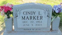 Cindy Lynn <I>Shelton</I> Marker