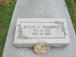 Evelyn Ann <I>Holt</I> Goodmon