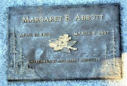 Margaret E Abbott