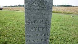 Sarah Eliza <I>Ellegood</I> Hayden