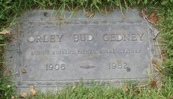 "Orley D ""Bud"" Gedney"