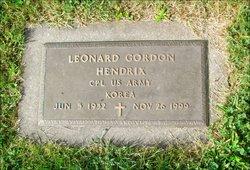 Leonard Gordon Hendrix