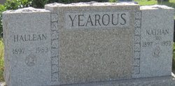 Jean Hallean <I>Ellis</I> Yearous