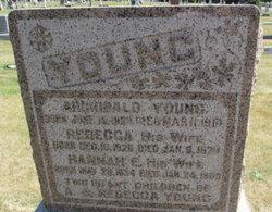 Hannah Elizabeth <I>Reasoner</I> Young