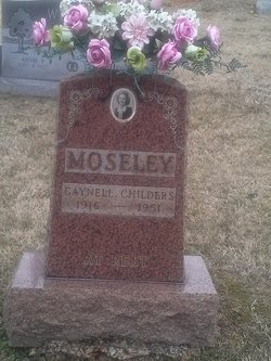 Gaynell <I>Childers</I> Moseley