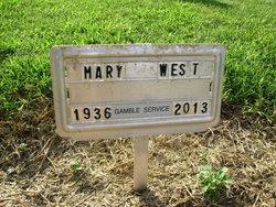 Mary Elizabeth <I>Brame</I> West