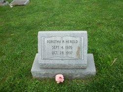 Dorothy Alice <I>Scott</I> Herold,