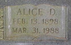 Alice D Blankenship