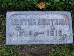 Bertha <I>Wenzlick</I> Bertram