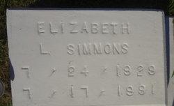 Elizabeth L Simmons