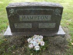 Wilma Alice <I>Jordan</I> Hampton