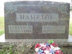 "Evelyn Nancy ""Eva"" <I>Kale</I> Hampton"