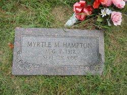Myrtle Marie <I>Koelling</I> Hampton