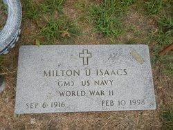 Milton Uriah Isaacs