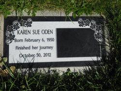 Karen Sue <I>Dale</I> Oden