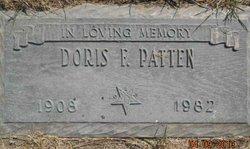 Doris F. Patten