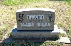 Mrs Sarah Ophelia <I>Porter</I> Alcorn