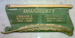 Sgt Donald Delbert Daugherty