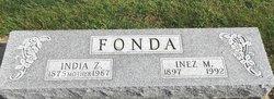 India Zella <I>Galusha</I> Fonda