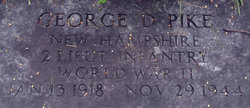 2LT George Douglas Pike