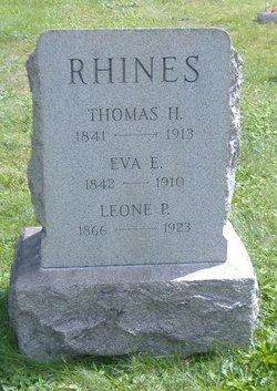 """Elizabeth Eveline """"Eva"""" <I>Hoffman</I> Rhines"""