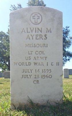 Alvin M Ayers