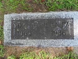 Ida E. <I>Miller</I> Plantz