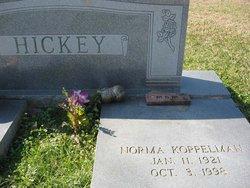 Norma Florine <I>Koppelmann</I> Hickey