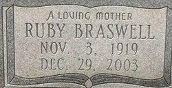 Ruby <I>Braswell</I> Merkison