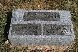 Emma May <I>DeLong</I> Walden