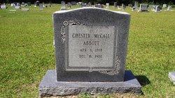 Chester McCall Abbott