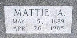 Mattie A. <I>Dalton</I> Hancock