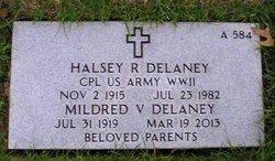 Halsey R Delaney