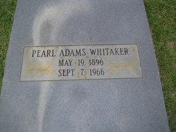 Pearl <I>Adams</I> Whitaker