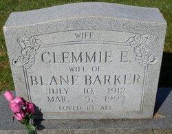 Clemmie Ellen <I>McNeill</I> Barker