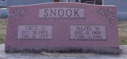 Hazel Mildred <I>Wood</I> Snook