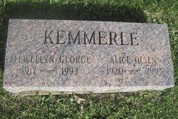 Alice <I>Olsen</I> Kemmerle