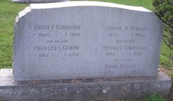 Frances L. <I>Gerow</I> Carpenter