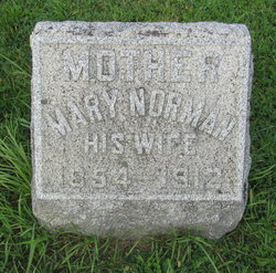 Mary <I>Norman</I> Waite
