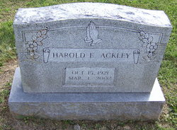 Harold E. Ackley