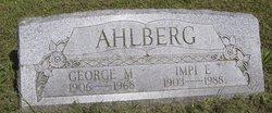 George M Ahlberg