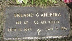 Erland G Ahlberg
